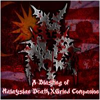 A Blasting of Malaysian DeathXGrind Companion - Compilation CD