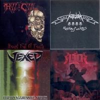 Alea Jacta/Hatework/Hell in a Cell/Vexed - Hellblasting Revenge