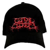 Guttural Secrete - Red Logo (FlexFit Hat)