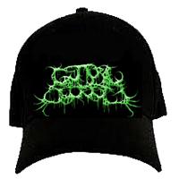 Guttural Secrete - Green Logo (FlexFit Hat)