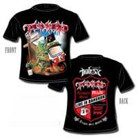 Tankard - Live in Bangkok Tour 2011 (Short Sleeved T-Shirt: M-L-XL)