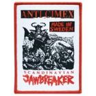 Anti Cimex - Scandinavian Jawbreaker (Patch: Red Border)