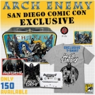 Arch Enemy - San Diego Comic Con 2018 (Metal Lunch Boxset: Short Sleeved T-Shirt: M-L)