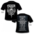 Asphyx - Deathhammered in 2014 (Short Sleeved T-Shirt: L)