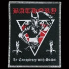 Bathory - In Conspiracy with Satan (Patch: Silver Border)