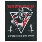 Bathory - In Conspiracy with Satan (Patch: Black Border)