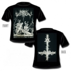 Black Witchery - Desecration of the Holy Kingdom (Short Sleeved T-Shirt: M)