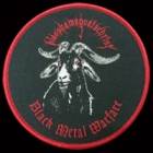 Blasphamagoatachrist - Black Metal Warfare (Rounded Patch)