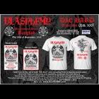 Blasphemy - Blasphemous Attack Bangkok (Die Hard Ticket Set: S-M-L-XL-XXL)