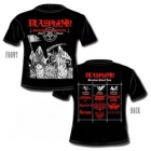 Blasphemy - Brazilian Ritual Fifth Attack (Short Sleeved T-Shirt: M-L-XL)