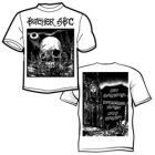 Butcher ABC - North of Hell (White Short Sleeved T-Shirt: M-L-XL-XXL)