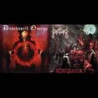 Deathspell Omega/Moonblood - Demoniac Vengeance/Sob A Lua Do Bode
