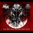 Evil Wrath/The True Endless/Gromm - Rape Their Souls With Black Metal Wrath