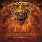 Gamma Ray - Hell Yeah!!! The Awesome Foursome (Live in Montreal) (2 CDs)
