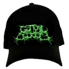 Guttural Secrete - Green Logo (FlexFit Hat)