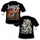 Incantation - Mortal Throne of Nazarene (Short Sleeved T-Shirt: M-L)