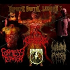 Infected Flesh/Genocide/Stillbirth/Formless Terror - Supreme Brutal Legions 3