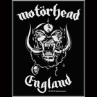 Motörhead - England (Patch)