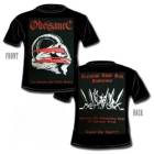 Obeisance - Live Sacrifice for Lucifer Master (Short Sleeved T-Shirt: L)