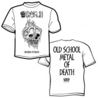 Oldskull - Oldskull of Death (Short Sleeved T-Shirt: 3XL)
