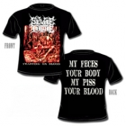 Severe Torture - Feasting on Blood (Short Sleeved T-Shirt: M-L)