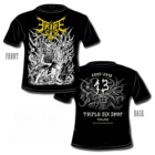 Triple Six Shop - 13th Anniversary (Short Sleeved T-Shirt: S-M-L-XL-XXL)