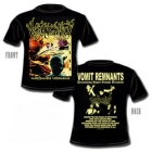 Vomit Remnants - Indefensible Vehemence (Short Sleeved T-Shirt: M-L-XL)