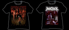 CANNIBAL CORPSE - Asia Tour Shirt & BANG-COCK DEATHFEST 2012 Shirt